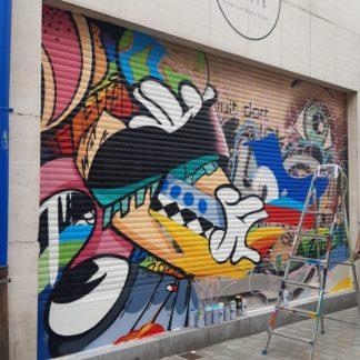 street art fresque